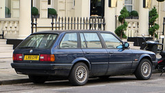 City of Westminster, London - UK (Mic V.) Tags: city uk england 3 london westminster car station wagon break estate britain united capital great kingdom voiture 1993 german londres bmw series lux touring e30 316 316i l951gyr