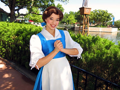 Belle (meeko_) Tags: belle beauty princess beautyandthebeast characters disneycharacters france worldshowcase epcot themepark walt disney world waltdisneyworld florida explore