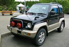 Mitsubishi Pajero Junior ZR-II (Custom_Cab) Tags: 2 two black wheel sport truck four drive 4x4 4 1996 4wd utility jr ii junior vehicle 1997 1998 suv import mitsubishi pajero zr rhd zr2 zrii