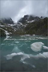 Aigua (Mercè Royo (NERET)) Tags: france frança muntanya excursió llac lacblanc boira reflectsobsessions mercèroyo alps2015