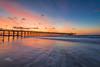 Orange Burst (Avisek Choudhury) Tags: sc sunrise landscape myrtlebeach southcarolina gitzo nikond800 avisekchoudhury acratechballhead nikon1635mm avisekchoudhuryphotography