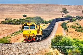 ACN4168 + empty Karara iron ore