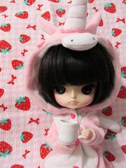 [ my sweet unicorn ] (nakapinata) Tags: doll dal wig kawaii groove puki desu kigurumi obitsu
