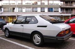 1991 Saab 900 Turbo 16 (rvandermaar) Tags: 1991 saab 900 turbo 16 t16 saab900 sidecode6 86fvng rvdm