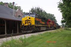 509 Newton Depot (eslade4) Tags: newton gp382 iais es44ac iowainterstaterailroad iais710 exrockislanddepot iais509 iais516