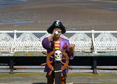 Pirates on the North Pier, Blackpool (Tony Worrall) Tags: county uk england english fun pier town wooden tour place northwest painted pirates country north objects visit location tony lancashire resort made coastal area northern blackpool sculptures lancs fylde northpier fyldecoast worrall welovethenorth 2015 2015tonyworrall