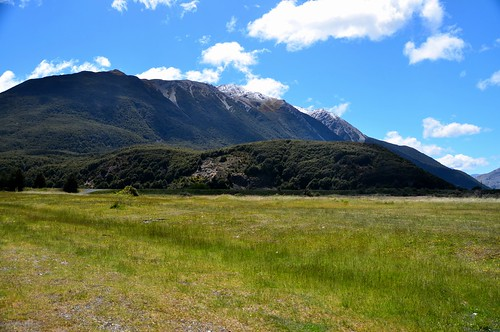 Arthur's Pass National Park, New Zealand.