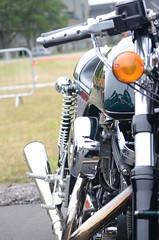 Bike (saddy_85) Tags: blue light red sky dog white car bike jump nikon day families ferrari motorbike solo jaguar benson raf 2015 d5100