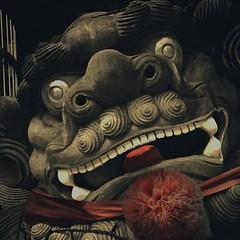 Winning Smile, Banqiao #culture #Asia #temple #Dragon #Taiwan #banciao (Badger 23 / jezevec) Tags: square roc taiwan squareformat formosa  kina  2015  republicofchina  instaart  republikken  tajwan  tchajwan   iloan  iphoneography republikchina thivn  taivna tavan   instagram instagramapp uploaded:by=instagram instataiwan