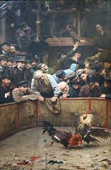 Le combat de coqs de Rémy Cogghe (musée d'art et d'industrie, Roubaix) (dalbera) Tags: france art musée roubaix muséedartetdindustrie combatdecoqs dalbera rémycogghe
