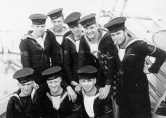 HMCS TRENTONIAN's Killicks (Roger Litwiller -Author/Artist) Tags: haven millford hmcstrentonian rcncanadiannavywwiinavybattleofatlantic