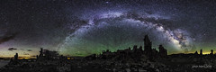 Tufa Splendor at Mono Lake II (TierraCosmos) Tags: california nightphotography rocks nightscape astrophotography nightsky monolake tufa milkyway milkywaypanorama