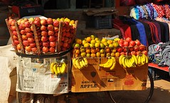 fruit stand in Bhaktapur (davidparratt) Tags: fruitstand bhaktapur nepal