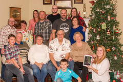 Christmas Day 2016 (The Suss-Man (Mike)) Tags: ballground cherokeecounty christmas christmas2016 christmasday familyportraits georgia sonya550 sussmanimaging thesussman me heather wife tim