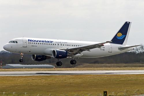 Nouvelair Tunisie Airbus A320 TS-INB