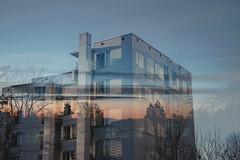 347/366 sun (Niko Saarinen) Tags: helsinki käpylä architecture doubleexposure sunrise sunshine sunny sky art visithelsinki tuusula fujifilm xe2 fujinon35mm classicchrome