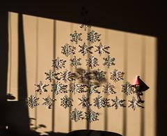 61 (žibuoklių jūra) Tags: christmas christmastree spooky baisiukas funny saving snowflakes shadows