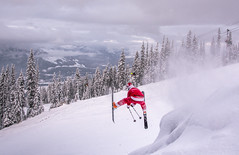Santa shredding - Revelstoke (Tom Poole Photography) Tags: santa skiing shred tompooleuk revelstoke canada british columbia bc explorebc