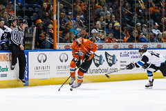 "Missouri Mavericks vs. Wichita Thunder, February 7, 2017, Silverstein Eye Centers Arena, Independence, Missouri.  Photo: John Howe / Howe Creative Photography • <a style=""font-size:0.8em;"" href=""http://www.flickr.com/photos/134016632@N02/31959645934/"" target=""_blank"">View on Flickr</a>"