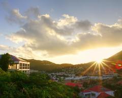Sunrise (G-daddyArt) Tags: sunrise sun clouds cloudscape trees highlight charlotteamalie virginislands stthomas