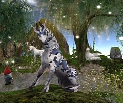 Teegle Horse 1 (suzumezuki) Tags: teegle teager horse sl secondlife onceuponafairytale