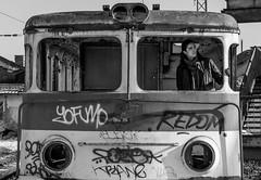 to where? (mzah1116) Tags: bdz train destruction photography bw