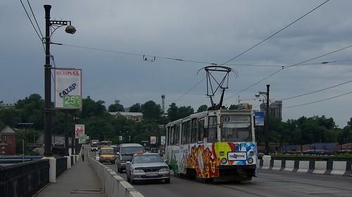Irkutsk tram 71-605 181 ©  trolleway