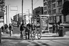 Drug Dealing in the Mission District (NormFox) Tags: bw balckandwhite bicycle california city cityscape missiondistrict monochrome sanfrancisco street people