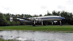 Lockheed 1649A Starliner N974R (JimLeslie33) Tags: lockheed canon g2 powershot fantasy flight museum n974r starliner 1649a preserved propliner constellation dalan