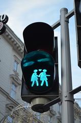 Friendly Trafficlight [Vienna - 10 December 2016] (Doc. Ing.) Tags: 2016 vienna austria wien trafficlight lgbt lesbian art love equalmarriage civilrights nikond5100