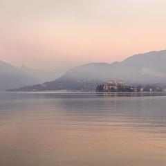 Orta lake mood (marco boff) Tags: leefilters island ortasangiulio orta piemonte bluehour misto mist sundown mood h5d50c hasselblad lake