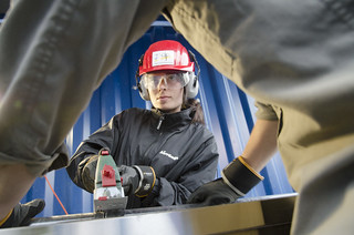 Drilling: Cutting Drill Core @Uppsala University by EPOS - European Plate Observing System
