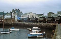 Whitehaven Harbour 1982 (delticfan) Tags: docks harbour mgr ncb coaltrain whitehavenharbour