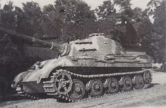 """Original photo of a King Tiger Tank resting • <a style=""""font-size:0.8em;"""" href=""""http://www.flickr.com/photos/81723459@N04/18169541934/"""" target=""""_blank"""">View on Flickr</a>"""