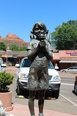 Statue Sedona AZ 2015 (scrapcrazy99) Tags: statue sedona