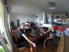 Photo de 14h - Blogging chez Virginie et Jean-Julien (Nouméa, Nouvelle-Calédonie) - 11.06.2014