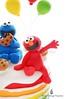 Elmo (Little Cottage Cupcakes) Tags: birthday cake balloons rainbow elmo sesamestreet cookiemonster fondant sugarpaste boycake littlecottagecupcakes furchesterhotel