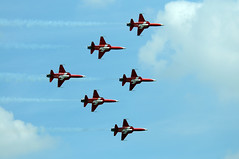 RIAT 25480 (kgvuk) Tags: aircraft tiger ii fairford riat patrouillesuisse f5e raffairford swissairforce
