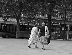 Conversation (hobbyphoto18) Tags: street city people blackandwhite bw france noiretblanc pentax streetphotography nb blacknwhite nordpasdecalais ville dunkerque k50 photoderue