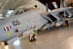 Grumman F-14D(R) Tomcat (scattered1) Tags: history museum airplane nose virginia smithsonian us antique f14 space aviation air wing cockpit center historic national va cannon hazy canopy nationalairandspacemuseum chantilly tomcat udvar grumman smithsonianinstitution 2015 udvarhazycenter f14dr 159610 f14a85gr