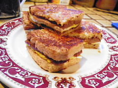 Toasted sandwich (Paul Beresford1100 (Tassie Devil)) Tags: china food fish chicken cake fruit cheese pie bread thailand bacon cambodia market beef prawns australia bbq ham roast vietnam pork mango eggs tasmania noodles brie tuna crumpet dumplings cheddar vegemite baked pawpaw sausage rolls dim sum