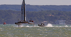 IMG_7682 (redladyofark) Tags: americascup ainslie landrover oracle softbank solent speed water boat sea