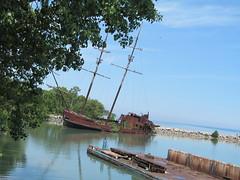 "Second replica of ""La Grande Hermine"" (Quevillon) Tags: ontario canada vessel niagara lincoln arson goldenhorseshoe jordanharbour grandehermine"