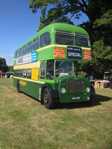 Aldershot & District 462 , 462EOT . Alton Bus Rally . 19-7-15.