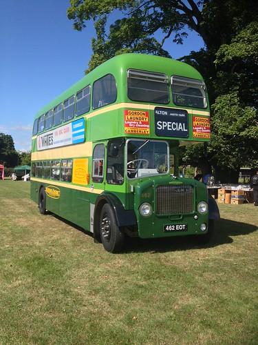 Aldershot & District 462 , 462EOT . Alton Bus Rally . 19-7-15.