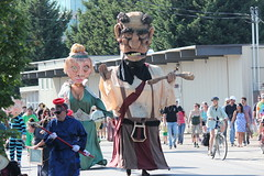More Freaky Puppets (Chicago John) Tags: seattle fair fremont parade solstice 2015 fremontfair