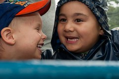 """MATES"" (Steve McGrady) Tags: friends boys kids children friendship sydney australia aussie atplay facialexpressions"