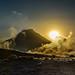 Volcano Udina at Sunrise