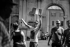 Screamer 2 (Andrea Gallo 101) Tags: street rome roma photography mono gallo andrea monotone 55mm porta m42 f18 rosso fujinon ebc portaportese portese fujinon55mmf18 a6000 ilce6000