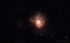 New Year's Eve Firework / Tűzijáték 2017 (A. Meli) Tags: firework new year 2017 newyearseve2017 outdoor januar winter january január tél feuerwerk2017 drausen